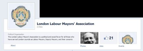 Masthead from London Labour Mayor's Association facebook page